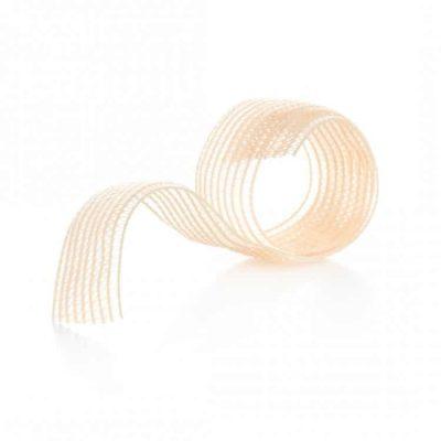 Shoe ribbon and elastic